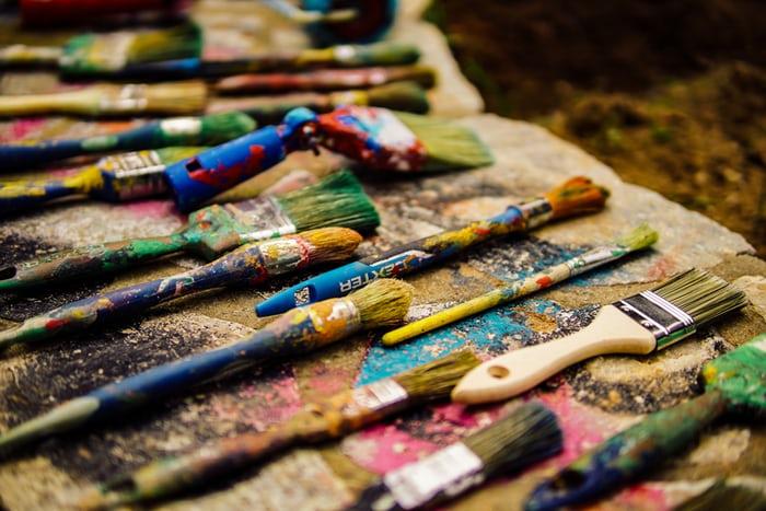 Regelmatig reinigen en schilderen van apparatuur